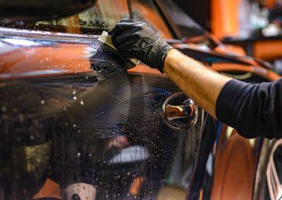 limpieza coche en Pamplona
